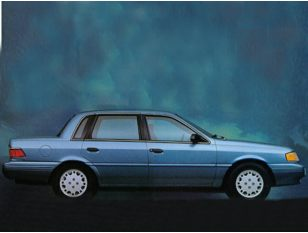 1993 Mercury Topaz Sedan