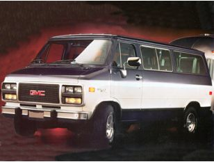 1995 GMC Rally Wagon Van