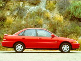 1996 Eagle Summit Sedan