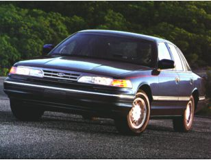 1997 Ford Crown Victoria Sedan