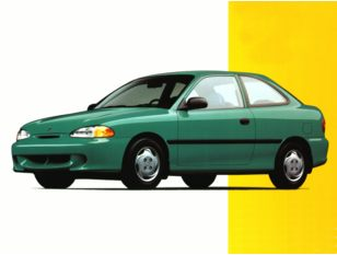 1996 Hyundai Accent Hatchback