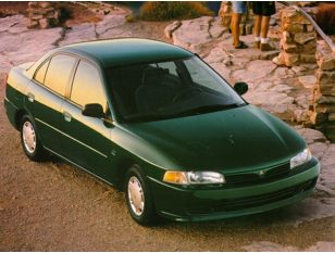 1997 Mitsubishi Mirage Sedan