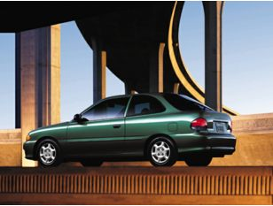 1998 Hyundai Accent Hatchback