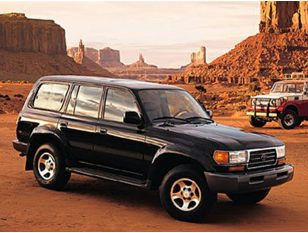 1998 Toyota Land Cruiser SUV