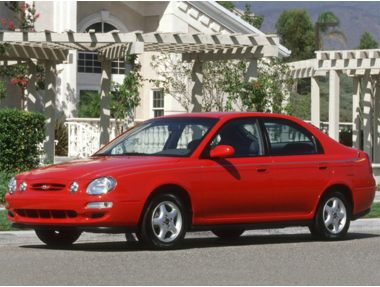 2001 Kia Spectra Sedan
