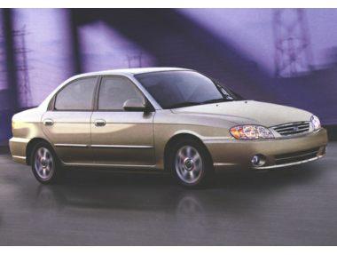 2002 Kia Spectra Sedan