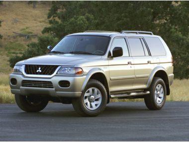 2002 Mitsubishi Montero Sport SUV