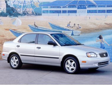 2002 Suzuki Esteem Sedan