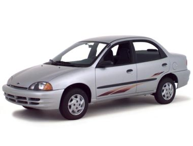 2000 Chevrolet Metro Coupe