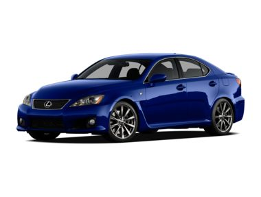 2012 Lexus IS-F Sedan