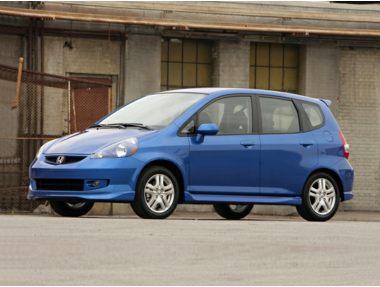 2007 honda fit base m5 hatchback ratings prices trims. Black Bedroom Furniture Sets. Home Design Ideas