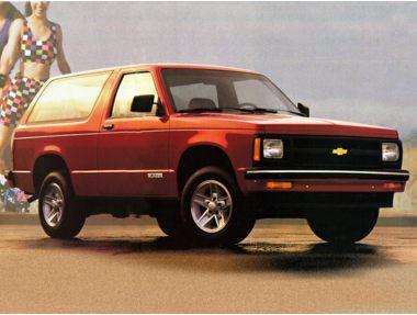 1992 Chevrolet S10 Blazer SUV