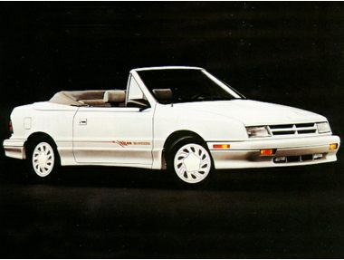 1992 Dodge Shadow Convertible