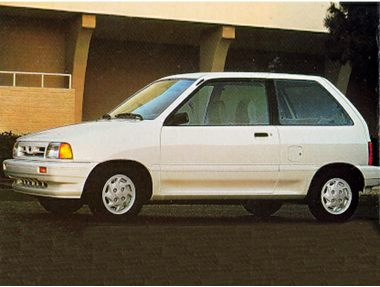 1992 Ford Festiva Hatchback