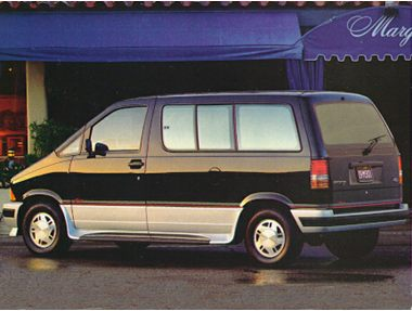 1992 Ford Aerostar Wagon