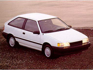 1992 Hyundai Excel Hatchback