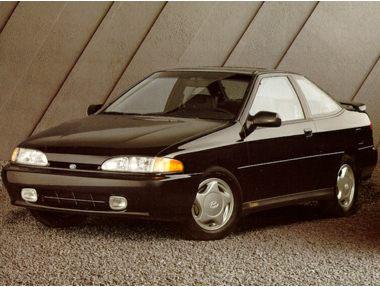 1992 Hyundai Scoupe Coupe
