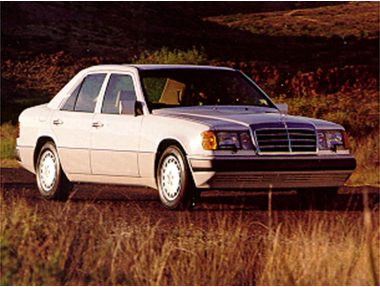 1992 Mercedes-Benz 500 Sedan
