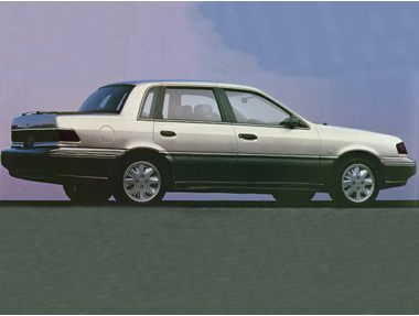 1992 Mercury Topaz Sedan