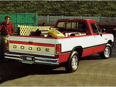 1993 Dodge D250 Truck