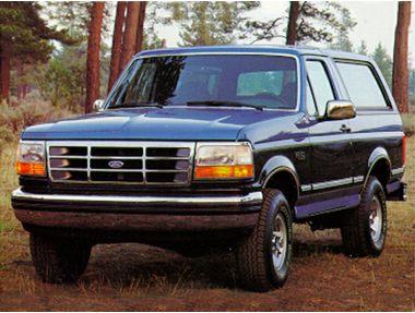 1993 Ford Bronco SUV