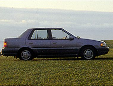 1993 Hyundai Excel Sedan
