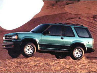 1993 Mazda Navajo SUV