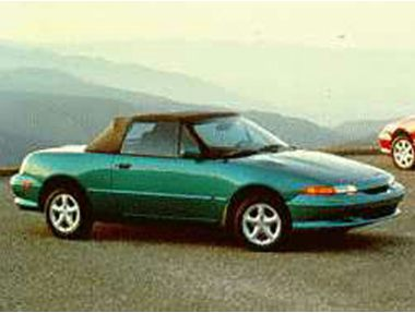 1993 Mercury Capri Convertible