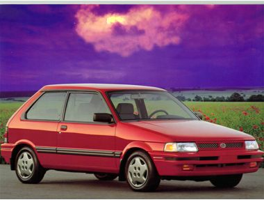 1993 Subaru Justy Hatchback