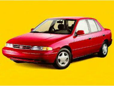 1994 Kia Sephia Sedan