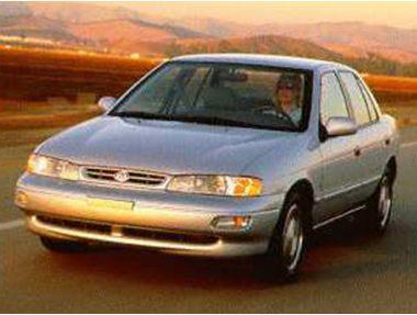 1995 Kia Sephia Sedan