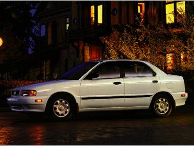 1997 Suzuki Esteem Sedan