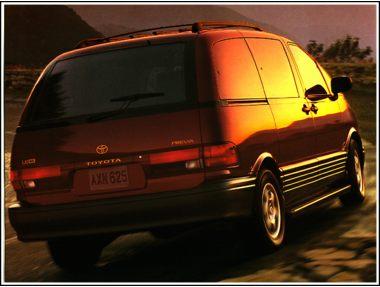 1997 Toyota Previa Van