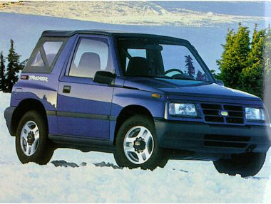 1998 Chevrolet Tracker SUV