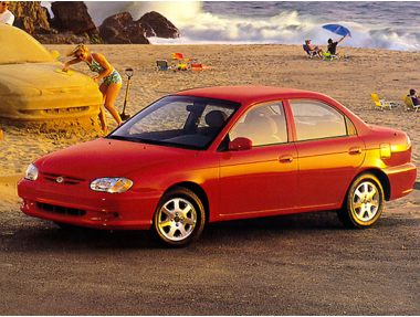 1998 Kia Sephia Sedan
