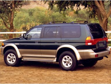 1999 mitsubishi montero sport es m5 suv ratings prices. Black Bedroom Furniture Sets. Home Design Ideas