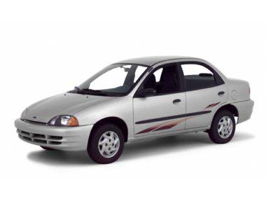 2001 Chevrolet Metro Sedan