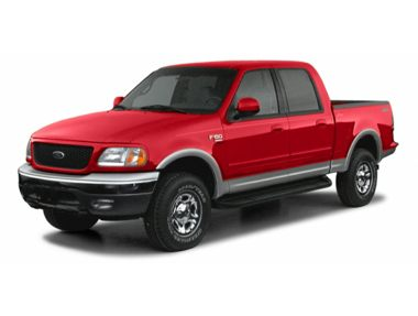 2002 ford f 150 supercrew xlt truck ratings prices trims. Black Bedroom Furniture Sets. Home Design Ideas