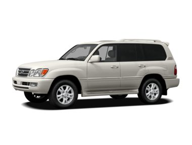 2007 lexus lx 470 base a5 suv ratings prices trims. Black Bedroom Furniture Sets. Home Design Ideas