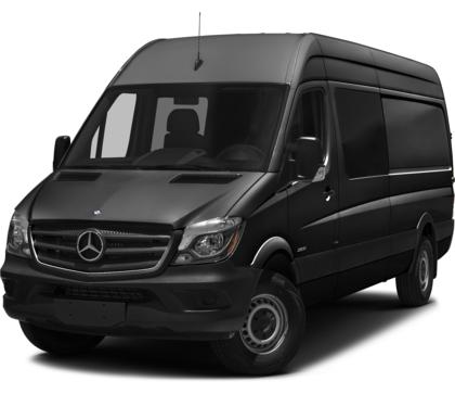2017 Mercedes-Benz Sprinter Crew Van TUNJA BLACK UPHOLSTERY Billings MT