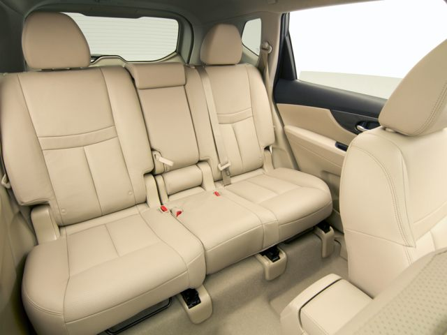 Back seat of the Nissan Rogue for sale in North Aurora, IL
