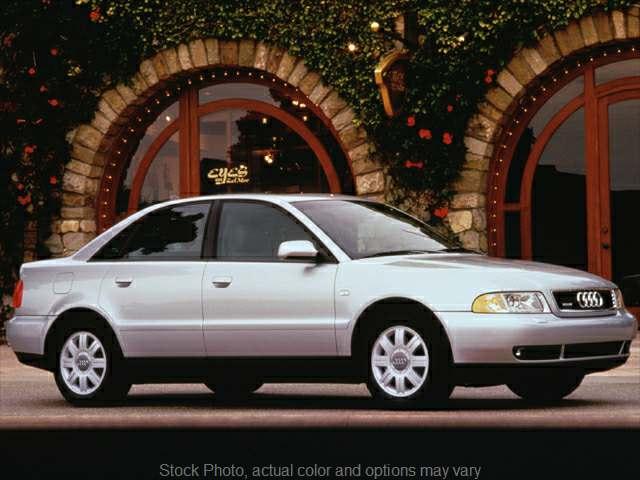 Used 2001  Audi A4 4d Sedan 1.8T Quattro at VA Cars of Tri-Cities near Hopewell, VA
