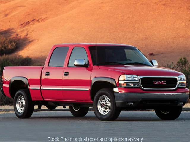 Used 2001  GMC Sierra 1500 4WD Crew Cab SLE at Oxendale Auto Outlet near Winslow, AZ
