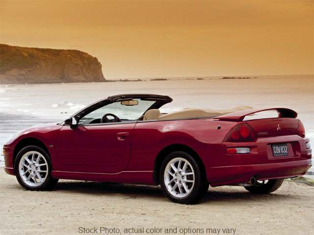 Used 2001  Mitsubishi Eclipse 2d Convertible GT Spyder MT at Shook Auto Sales near New Philadelphia, OH
