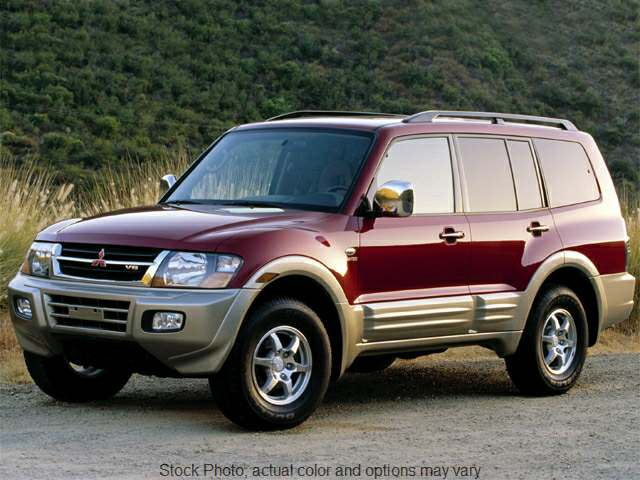 2001 Mitsubishi Montero 4d SUV Limited at Edd Kirby's Adventure near Dalton, GA