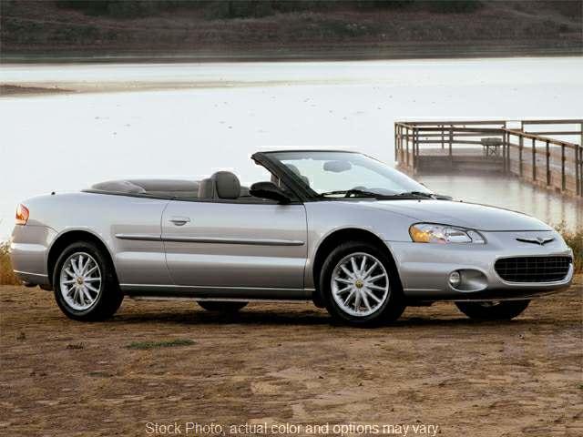 Used 2002  Chrysler Sebring 2d Convertible LX V6 at VA Cars of Tri-Cities near Hopewell, VA