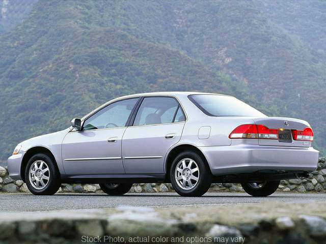 Used 2002  Honda Accord Sedan 4d EX w/Leather at VA Cars of Tri-Cities near Hopewell, VA
