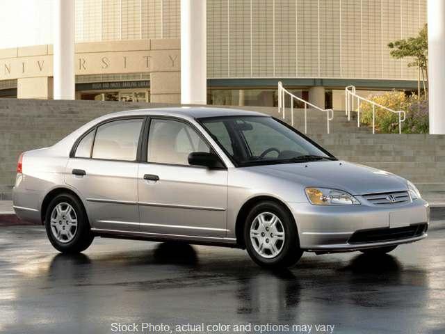 Used 2002  Honda Civic Sedan 4d EX at Bobb Suzuki near Columbus, OH