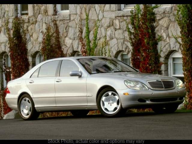 Used 2002  Mercedes-Benz S-Class 4d Sedan S600 at VA Cars Inc. near Richmond, VA