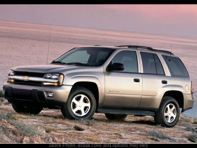 Used 2003  Chevrolet Trailblazer 4d SUV 4WD LS at Good Wheels near Ellwood City, PA